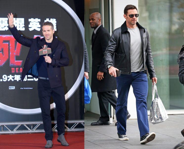 Inspiração de look: Hugh Jackman e Ryan Reynolds
