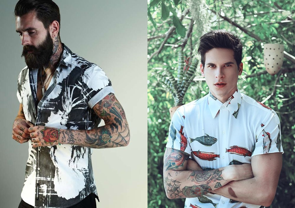 bfecea87248b9 Camisa de manga curta é tendência masculina - MODA SEM CENSURA ...
