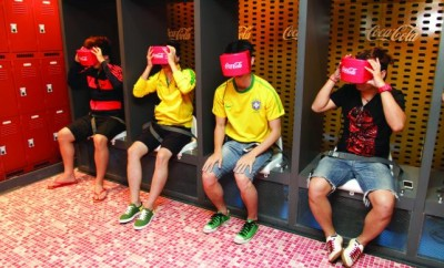 coca-cola virtual reality, peck 12, coca-cola 2016, lançamento, alex cursino, blog de moda, moda sem censura, menswear, tech, cultura geek, news,