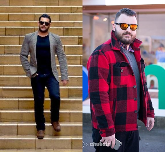 2 truques de moda pluz size masculino