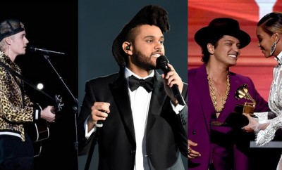 justin bieber, the weeknd, bruno mars, grammy 2016, performance, red carpet, menswear, moda masculina, fashion tips, dicas de moda, alex cursino, mens, youtuber, canal de moda, blog de moda, 2