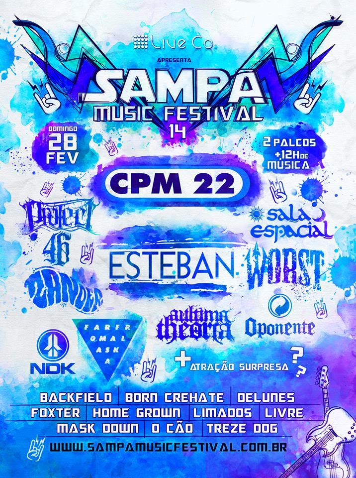 sampa music festival, cpm 22, nx zero, rock nacional, cultura, agenda cultural, blog de moda, blog, fashion blogger, alex cursino, moda sem censura, dicas de cultura,