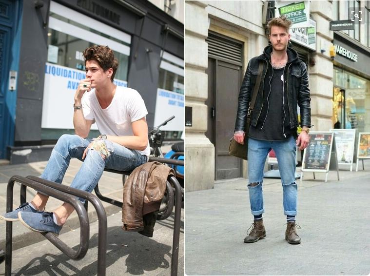 4045d4745 O jeans rasgado já foi tema de nossas matérias de estilo masculino e agora  é foco da nossa beauty tips em nosso canal de moda no Youtube