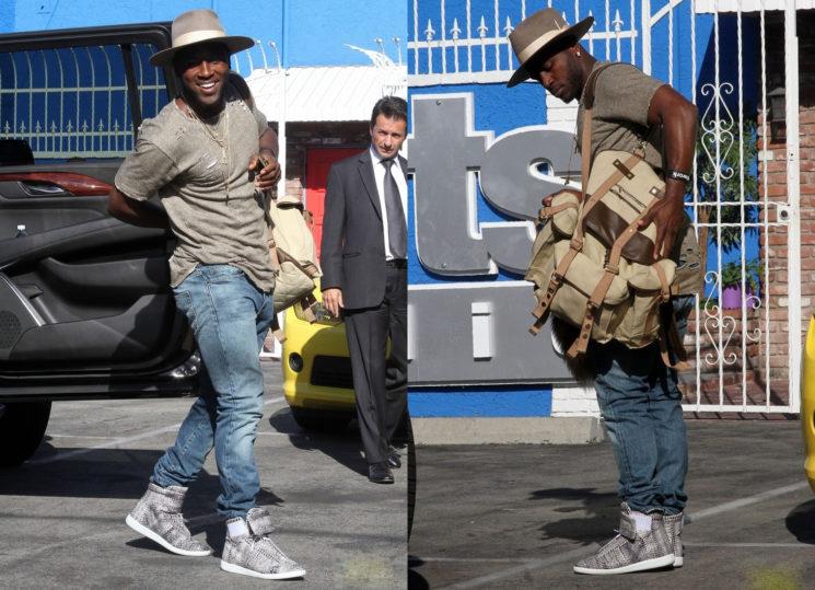 Outfit do dia: Antonio Brown