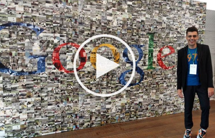 Youtube: Visita ao escritório do Google