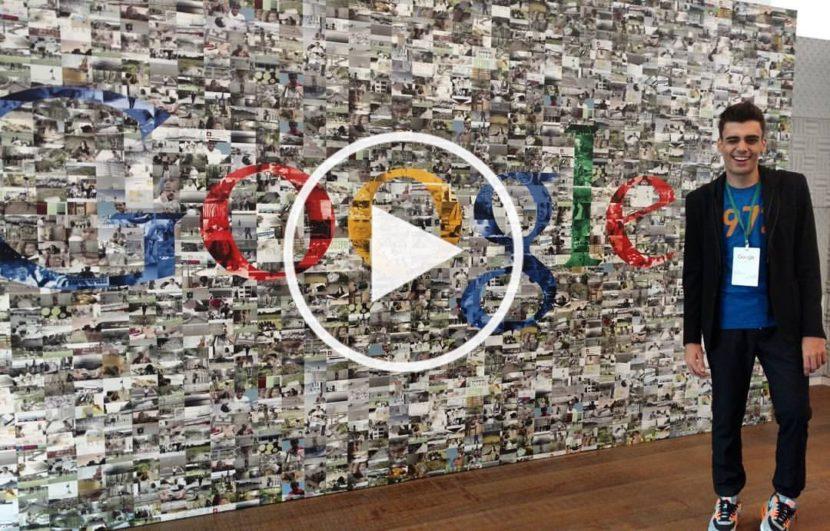 Youtube: Visita ao escritório do Google