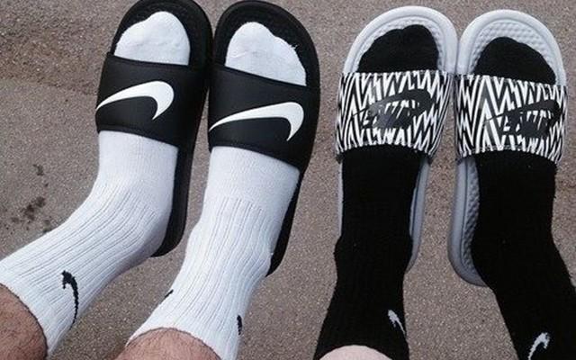 chinelo com meia, chinelo slide, sandals and socks, menswear, moda masculina, alex cursino, moda sem censura, blog de moda, dicas de moda, dicas de estilo, 5
