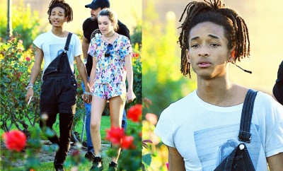 jaden smith, girlfriend, namorada de jaden smith, style jadem smith, outfit of the day, look do dia masculina, jardineira masculina, macacão masculino, alex cursino, moda sem censura