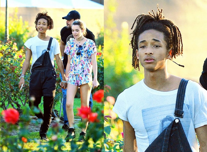Outfit do dia #07: Jaden Smith usando jardineira masculina