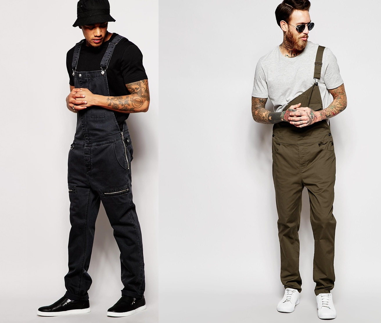 Saiba como usar o macac o que tend ncia masculina moda for Jardineira masculina c a