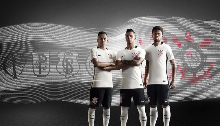 Nike e Corinthians apresentam novo uniforme 2016