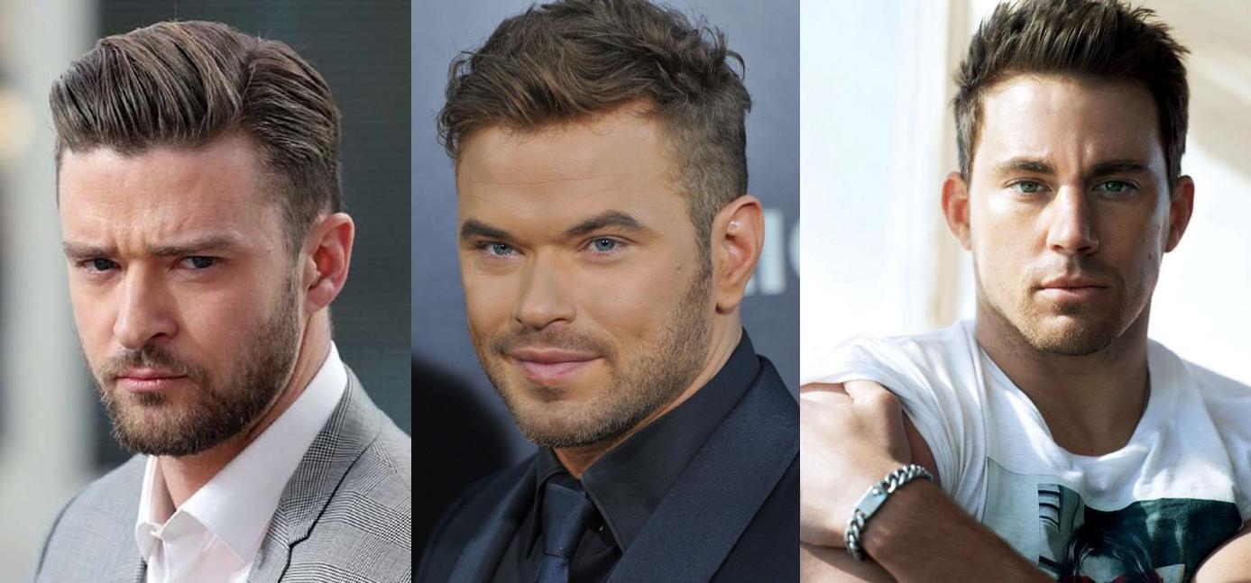 Cortes de cabelo para rosto redondo masculino americano