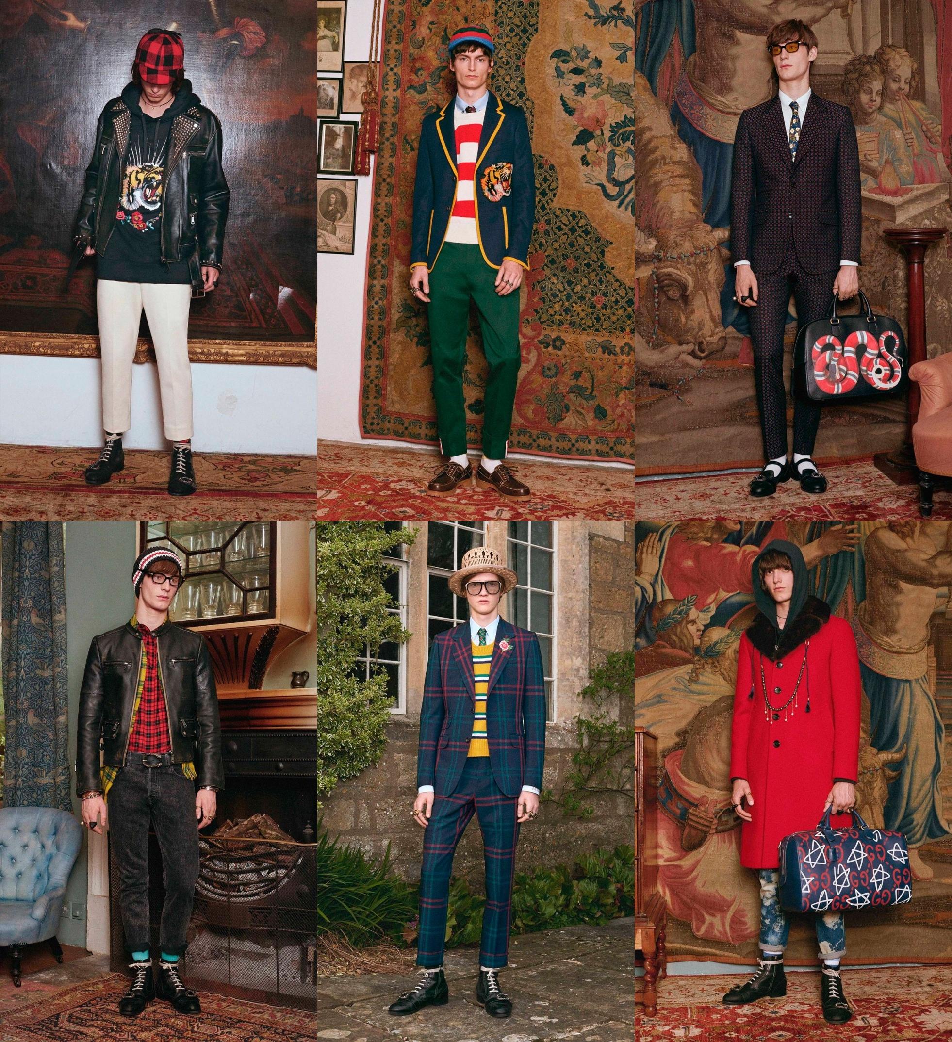 8bf9fa74c ... menswear desfile gucci, coleção gucci, gucci resort, gucci cruise,  collection 2017, ...