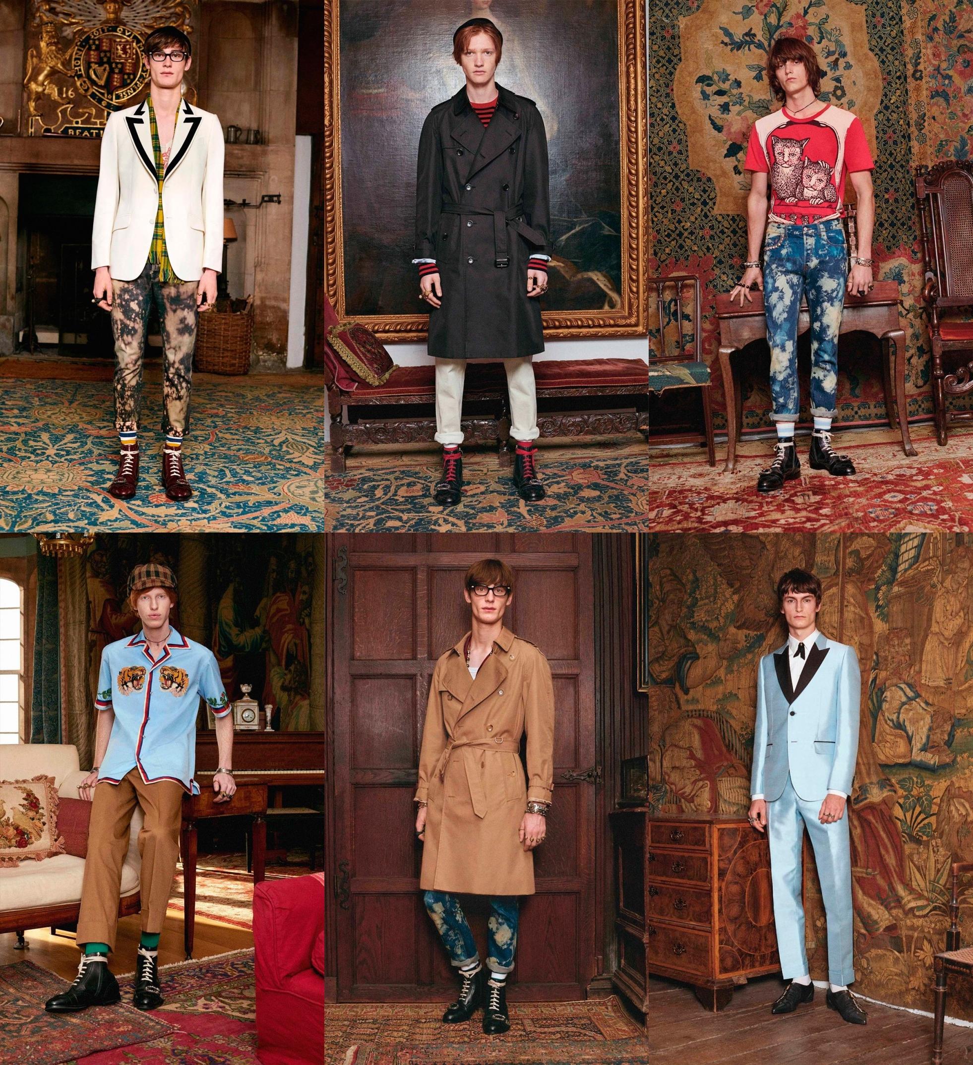 06acd2ca0 ... menswear desfile gucci, coleção gucci, gucci resort, gucci cruise,  collection 2017, menswear