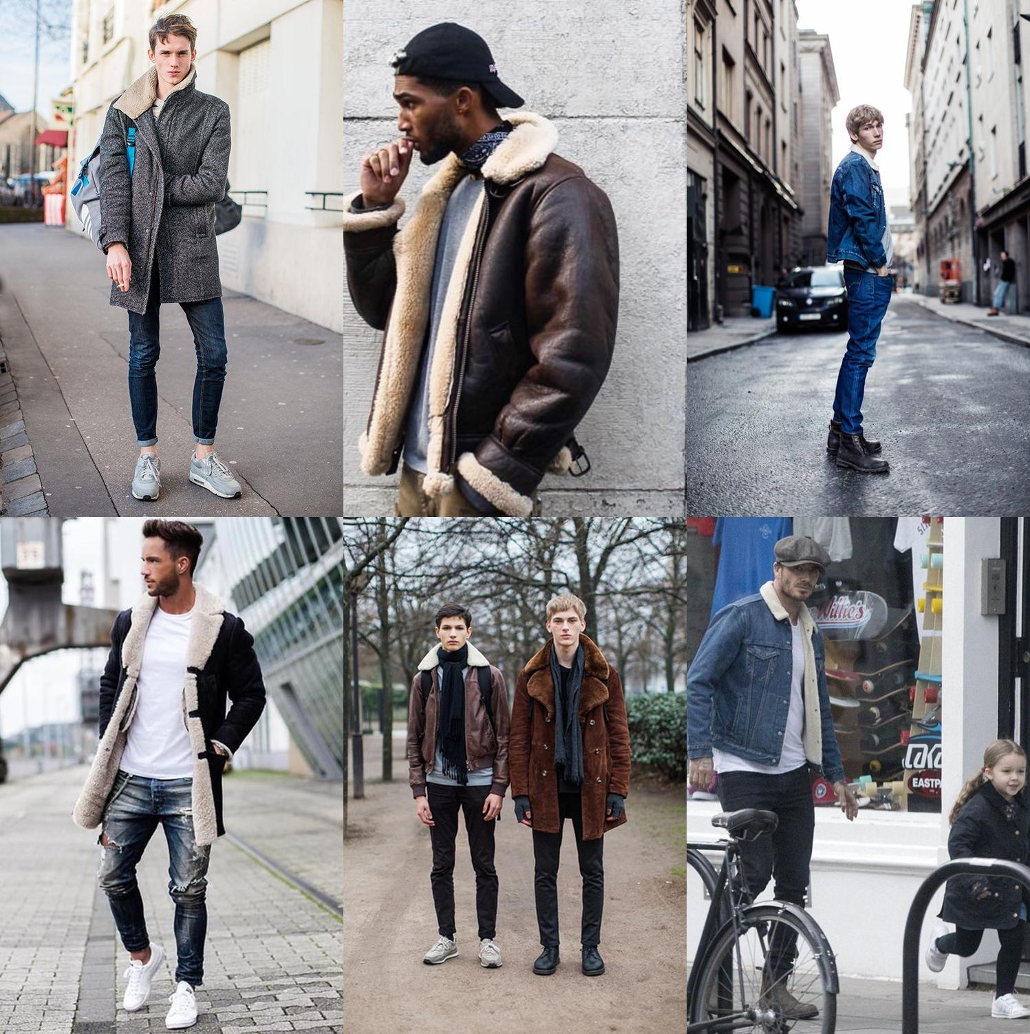 jaqueta pele de carneiro, jaqueta masculina, Sherpa Trucker Jacket. moda masculina, menswear, blogger, blog de moda, alex cursino, moda sem censura, dicas de moda, 3