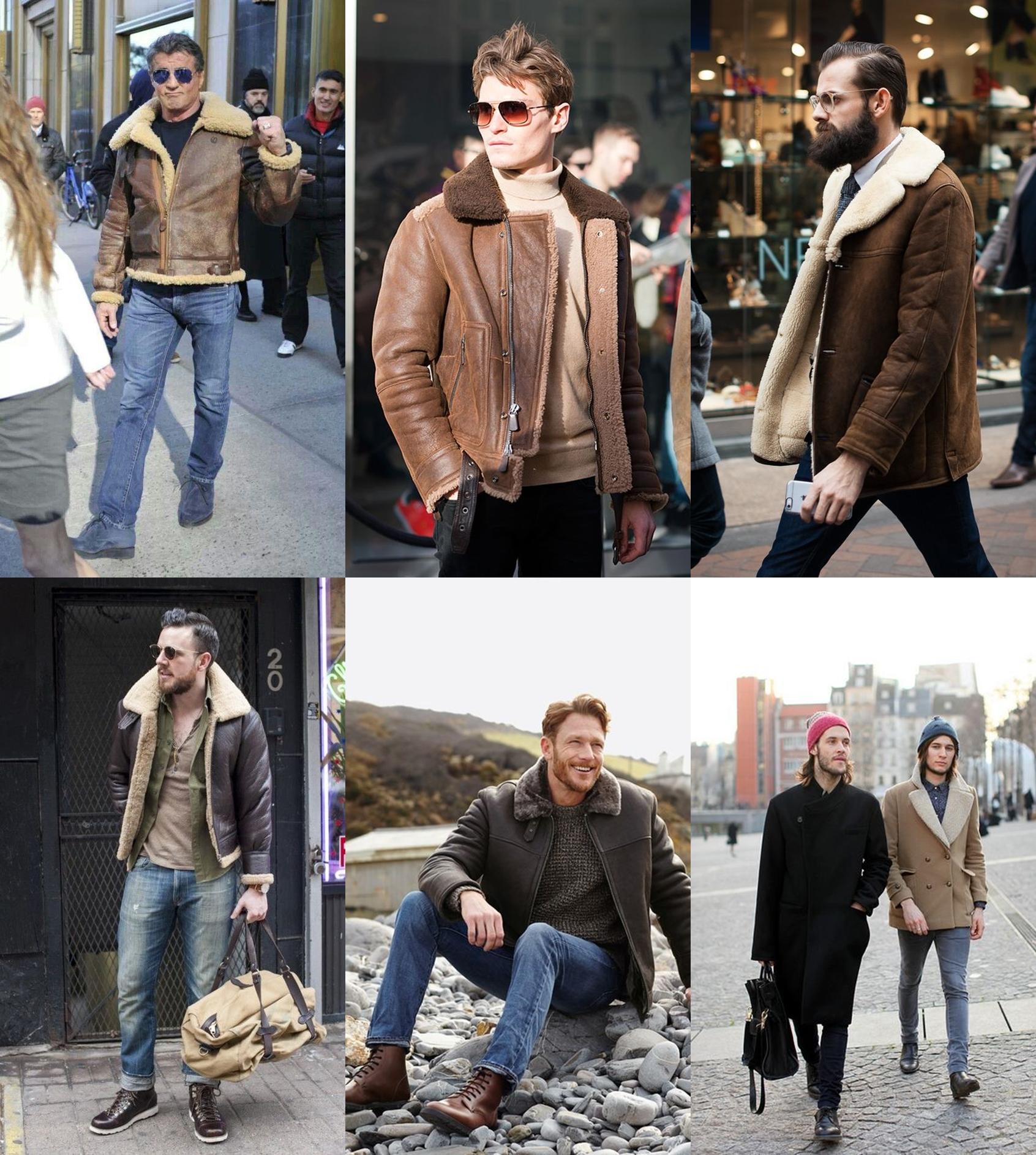 jaqueta pele de carneiro, jaqueta masculina, Sherpa Trucker Jacket. moda masculina, menswear, blogger, blog de moda, alex cursino, moda sem censura, dicas de moda, 5