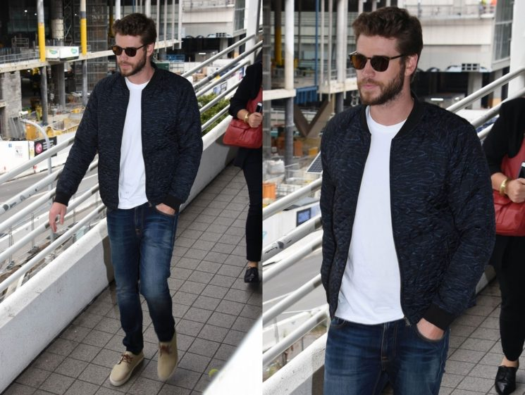 Outfit do dia #10: Liam Hemsworth