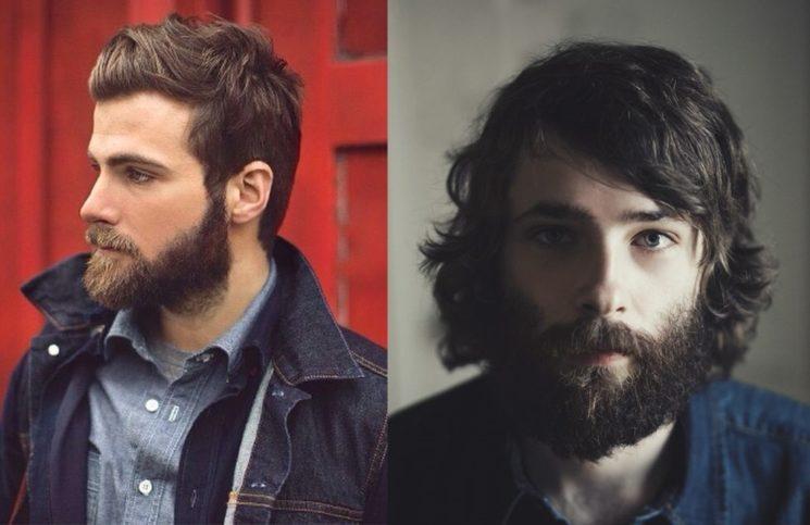 Barba volumosa é tendência