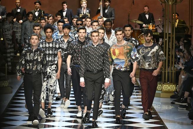 dolce e gabbana, milan fashion week, fashion show, desfile masculino, desfile milão, coleção masculina, review, alex cursino, moda sem censura, blog de moda, blogger, influencer, (95)