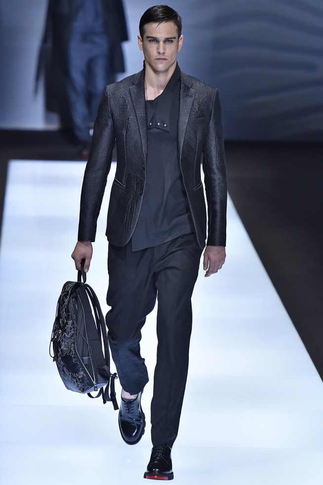 emporio armani, milan fashion week, fashion show, desfile masculino, coleção masculina, review, alex cursino, moda sem censura (10)