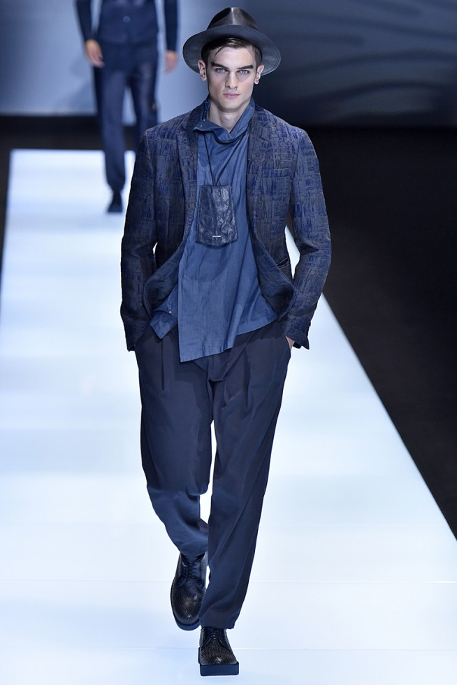 emporio armani, milan fashion week, fashion show, desfile masculino, coleção masculina, review, alex cursino, moda sem censura (17)