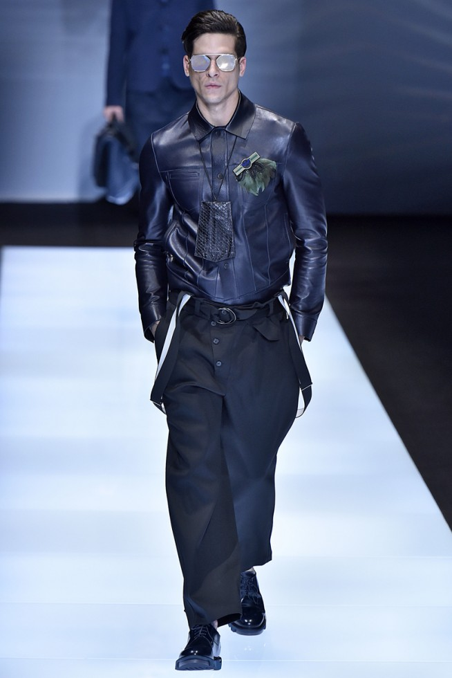 emporio armani, milan fashion week, fashion show, desfile masculino, coleção masculina, review, alex cursino, moda sem censura (19)