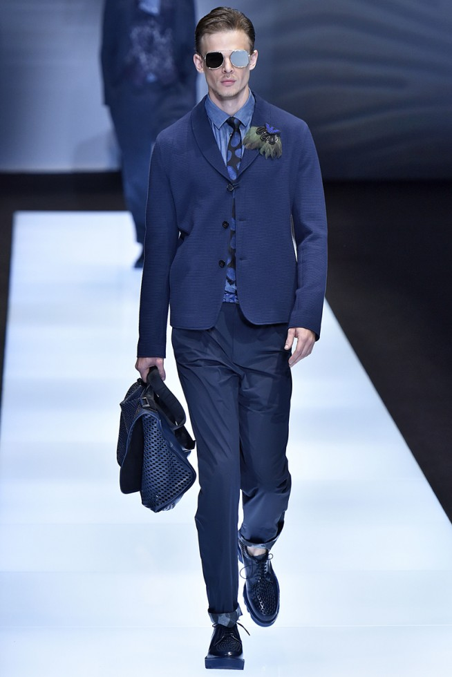 emporio armani, milan fashion week, fashion show, desfile masculino, coleção masculina, review, alex cursino, moda sem censura (20)
