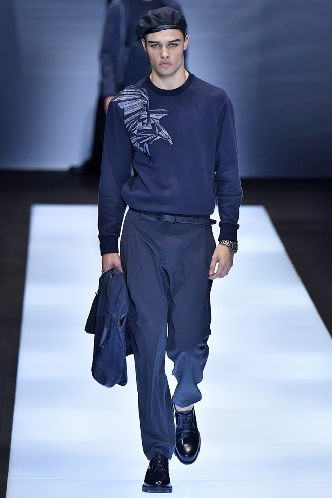 emporio armani, milan fashion week, fashion show, desfile masculino, coleção masculina, review, alex cursino, moda sem censura (28)
