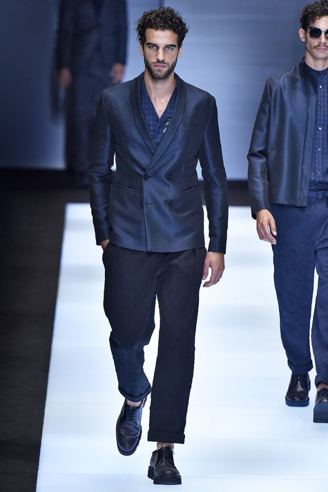 emporio armani, milan fashion week, fashion show, desfile masculino, coleção masculina, review, alex cursino, moda sem censura (7)