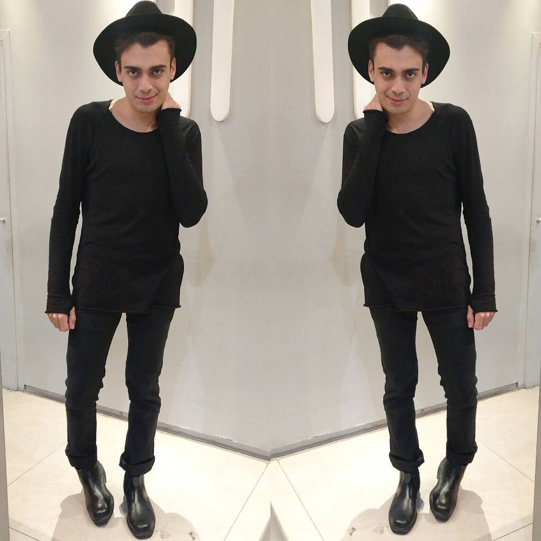 alex cursino, blogueiro de moda, fashion influencer, esitlo masculino, all black for men, total preto masculino, gótico, rock, look masculino, blogger, social media, mens, menswear, inspiração
