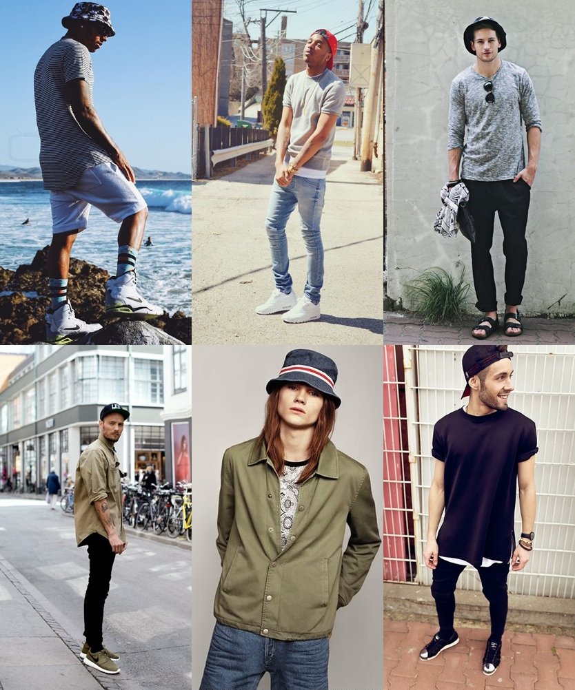 chapéu masculino, boné masculino, como usar chapéu, como usar boné, menswear, dicas de moda, dicas de estilo, bucket hat, moda sem censura, alex cursino