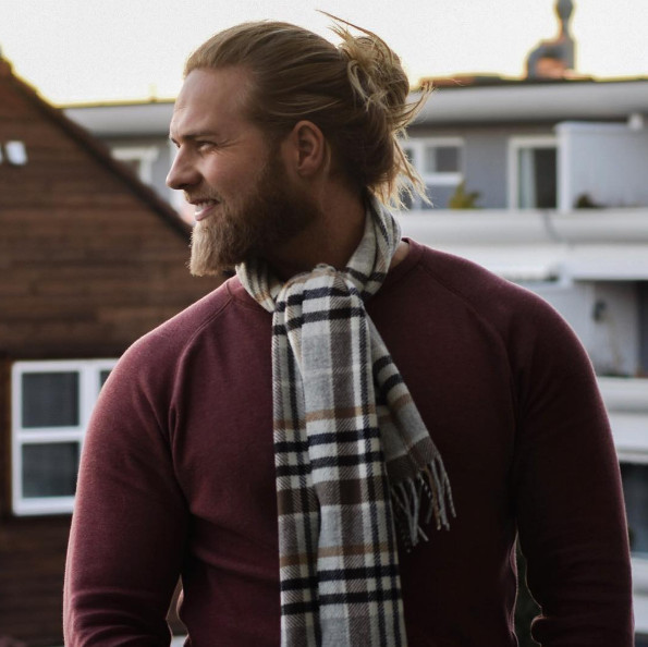 barba 2017, cabelo longo masculino, cabelo loiro, homem estiloso, tenente da marinha, moda sem censura, alex cursino, estilo viking, lumberssexual, mens, grooming, (3)