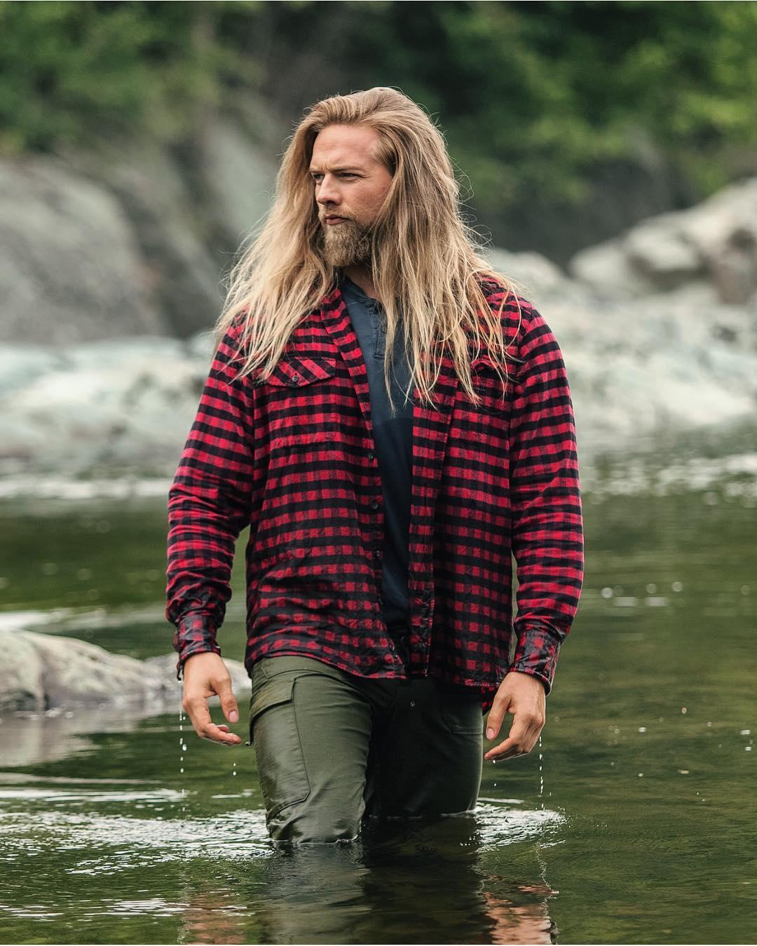 barba 2017, cabelo longo masculino, cabelo loiro, homem estiloso, tenente da marinha, moda sem censura, alex cursino, estilo viking, lumberssexual, mens, grooming, (9)