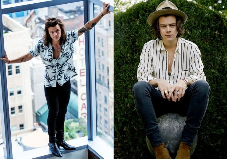 6 looks de Harry Styles para se inspirar