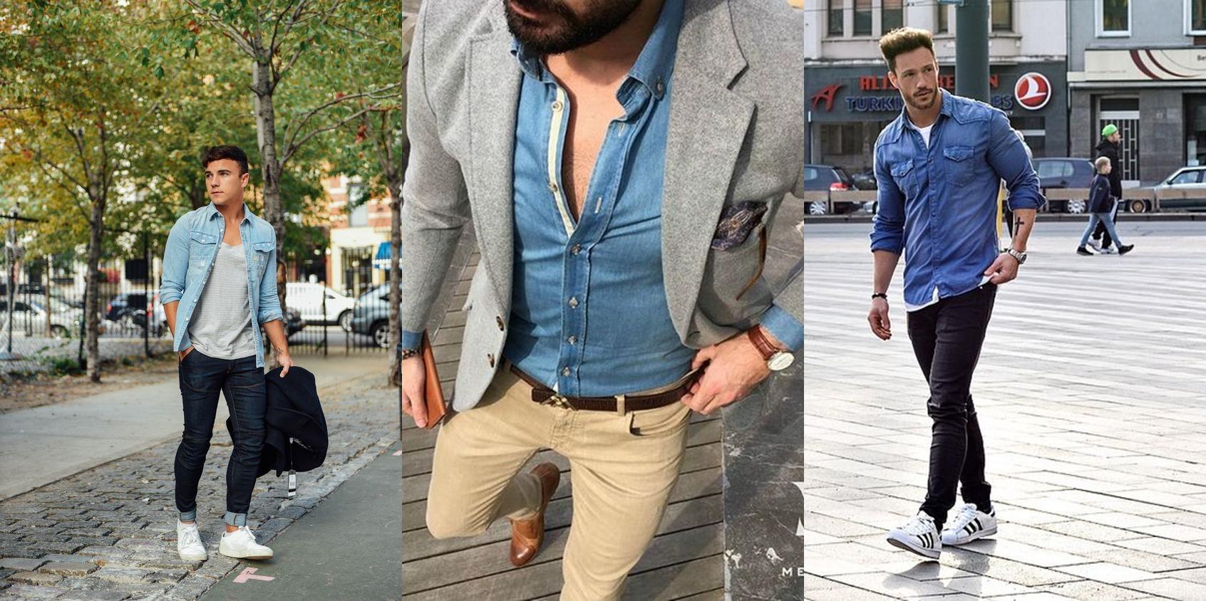 camisa-jeans-masculina-dicas-de-moda-dicas-de-estilo-moda-masculina-como-ser-estiloso-como-ter-estilo-alex-cursino-moda-sem-censura-blog-de-moda-digital-influencer-social-media
