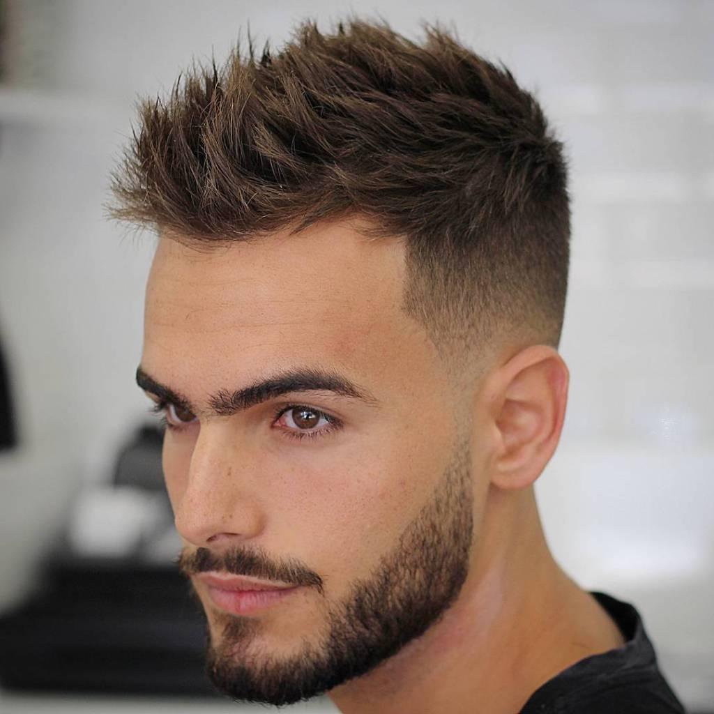 Cortes de cabelo masculino com entradas