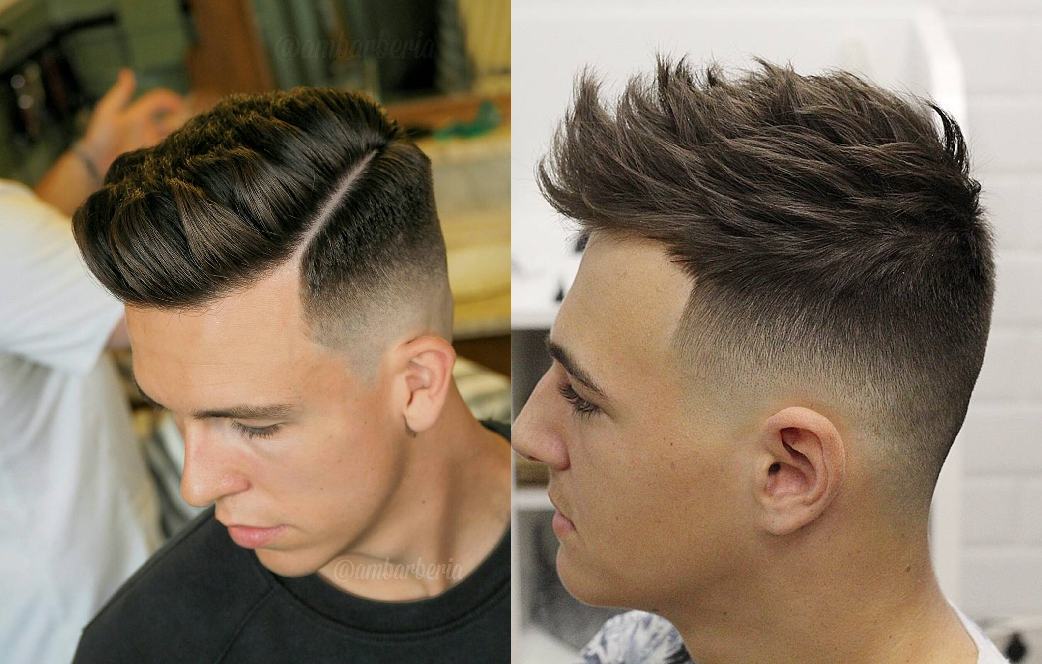 Haircut With Fade Hairs Picture Gallery