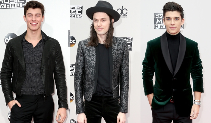 Os homens mais estilosos do AMAs 2016