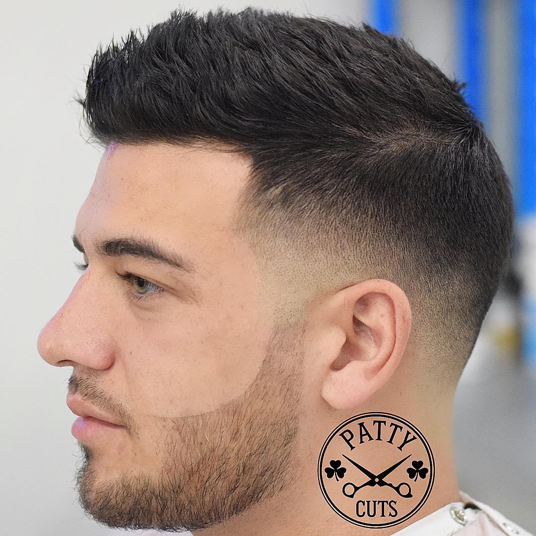 Cortes de cabelo masculino com barba feita