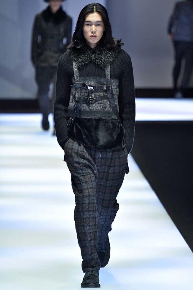 Emporio Armani Milan Menswear Fall Winter 2017, desfile masculino, tendencia masculina, inverno 2017, winter 2018, alex cursino, blog de moda, moda sem censura (15)