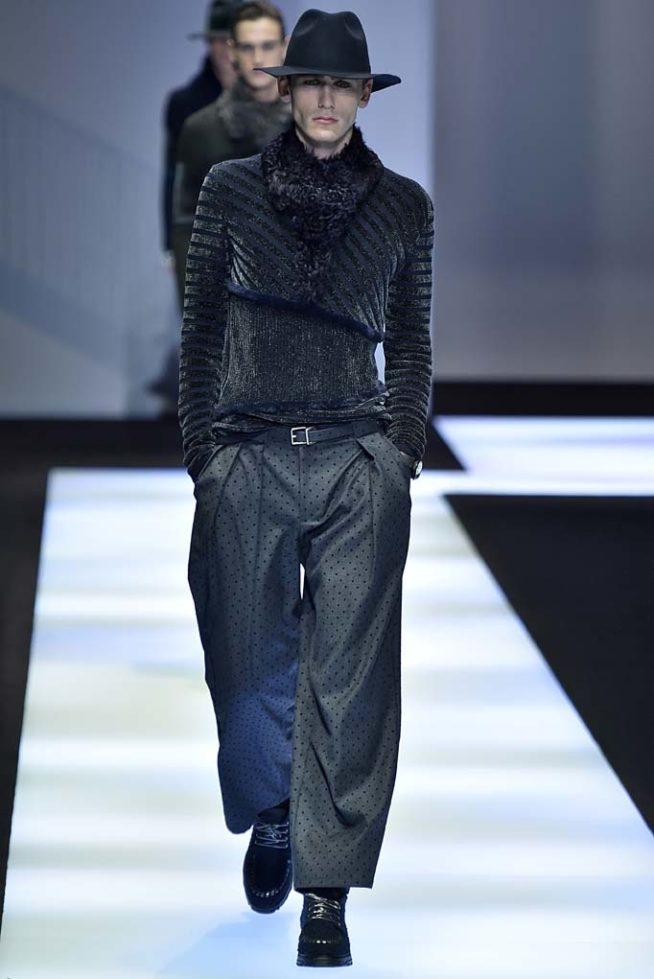 Emporio Armani Milan Menswear Fall Winter 2017, desfile masculino, tendencia masculina, inverno 2017, winter 2018, alex cursino, blog de moda, moda sem censura (29)