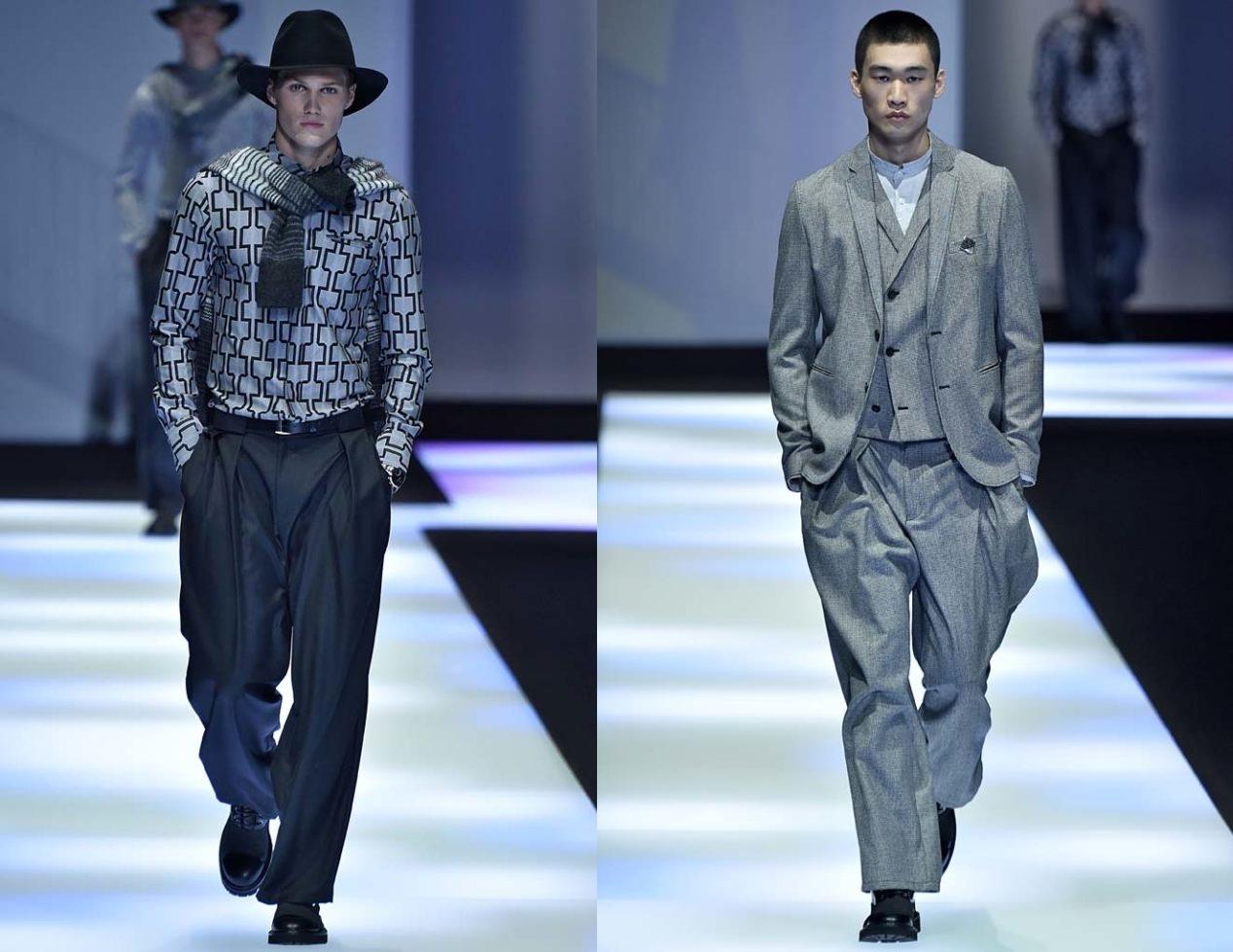 Emporio Armani Milan Menswear Fall Winter 2017, desfile masculino, tendencia masculina, inverno 2017, winter 2018, alex cursino, blog de moda, moda sem censura (3)-horz