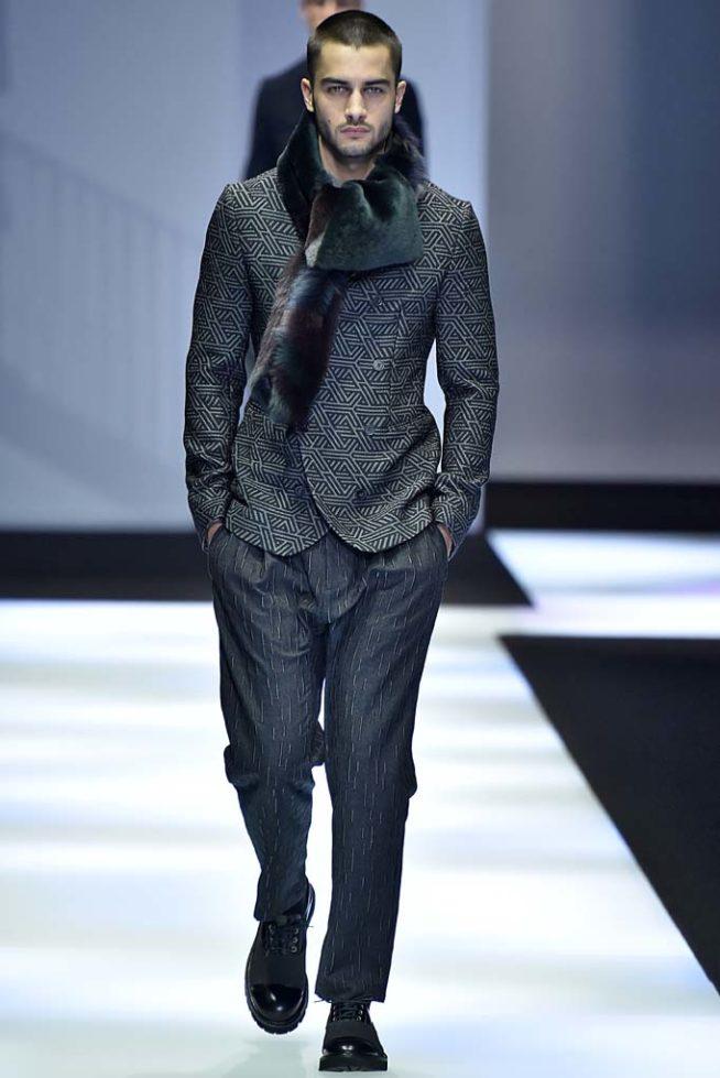 Emporio Armani Milan Menswear Fall Winter 2017, desfile masculino, tendencia masculina, inverno 2017, winter 2018, alex cursino, blog de moda, moda sem censura (6)