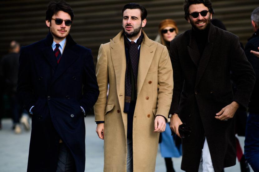 Street style masculino da Pitti Uomo 2017