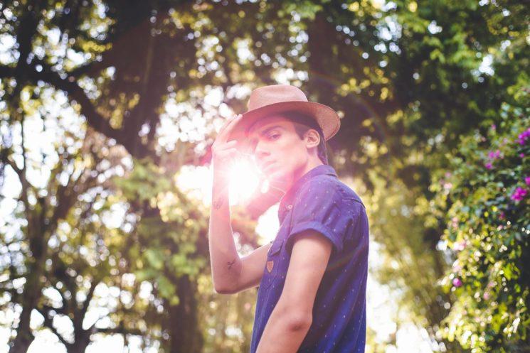Shooting #4: Chapéu masculino e bata casual