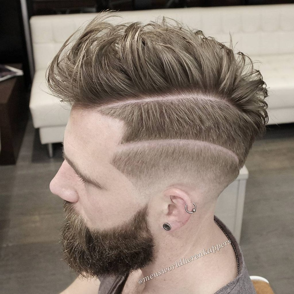 Nas hair part