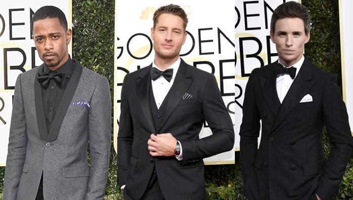 Os homens mais estilosos do Globo de Ouro 2017