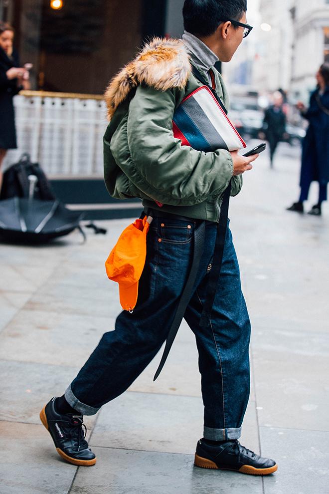 london fashion week mens, winter 2017, fall 2018, street style, look masculino, blogger, blog de moda masculina, alex cursino, youtuber, canal de moda, dicas de moda (13)