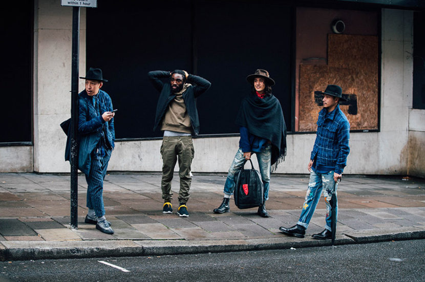 O street style da Semana de Moda Masculina de Londres
