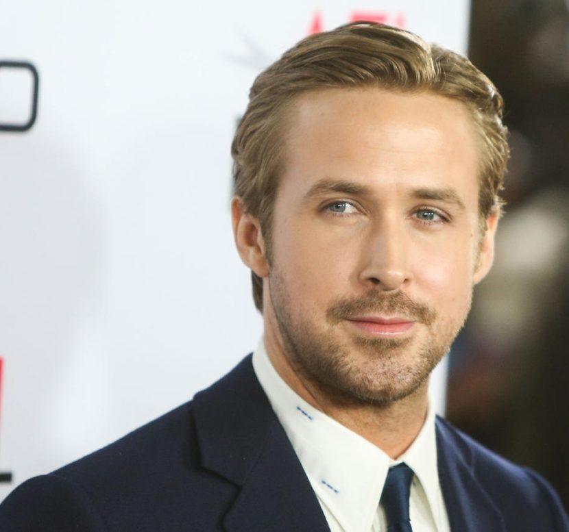 Cabelo social masculino no estilo Ryan Gosling